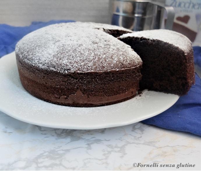 Torta Moretta senza glutine