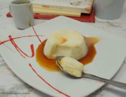 La Panna cotta con salsa al caramello