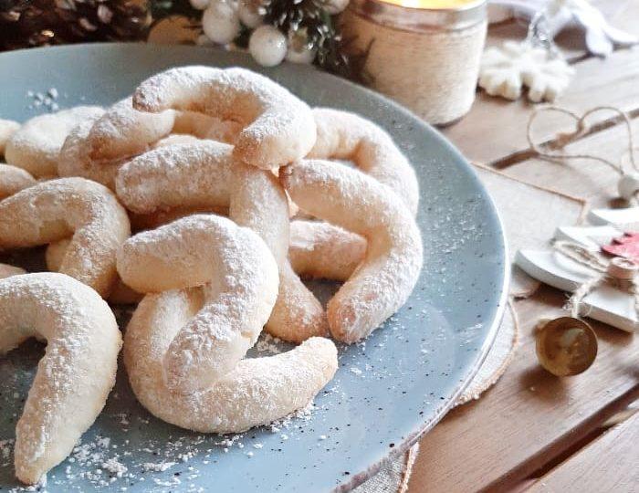Biscotti Vanillekipferl senza glutine