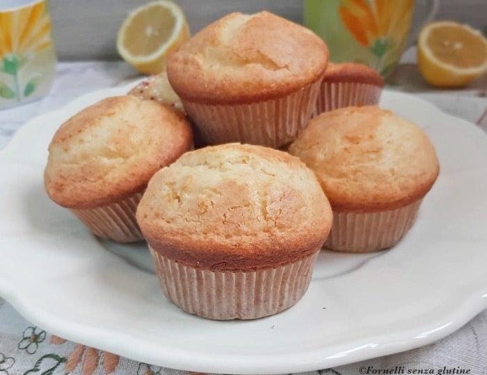 I Muffin di Ricotta e Limone