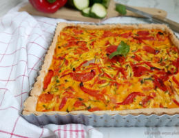Quiche-alle-verdure-senza-glutine- torta salata senza glutine
