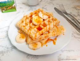 Waffle senza glutine