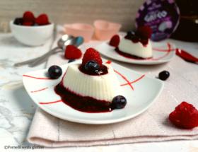 Panna Cotta allo Yogurt greco senza lattosio