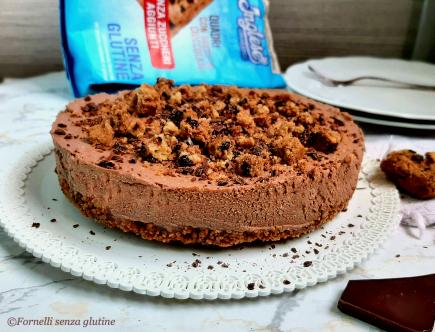 Cheesecake ricotta e cioccolato senza cottura